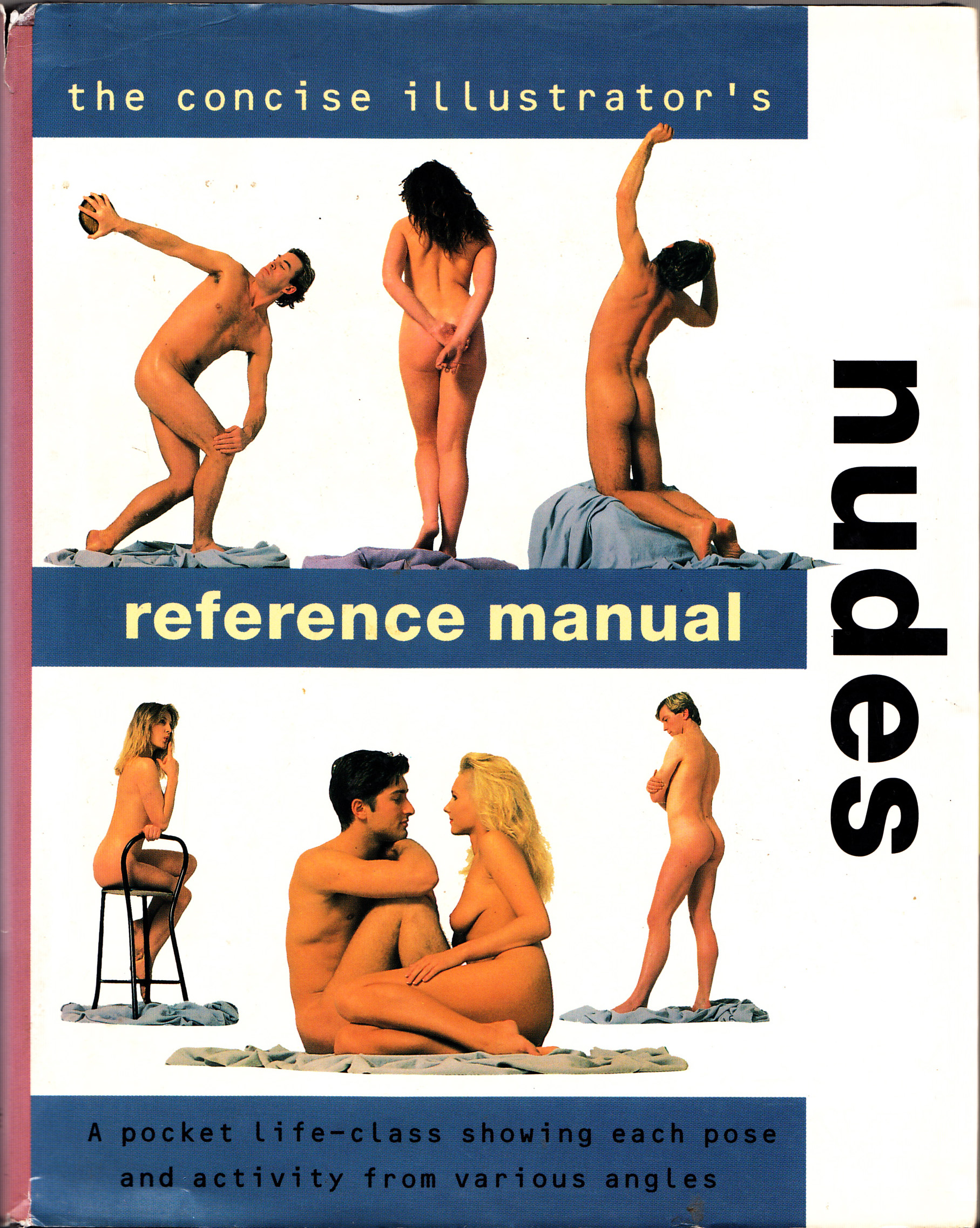 figure drawing references drawing imaging people sections b04 nude reference manual cover