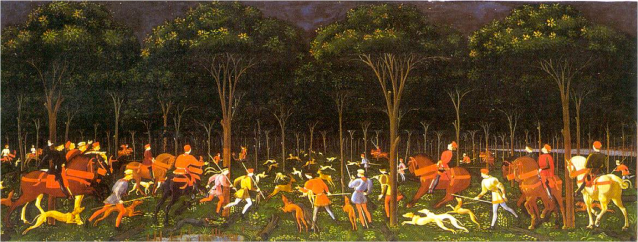 Paolo Uccello was obsessed!